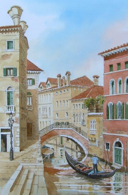 Canal View of Venice