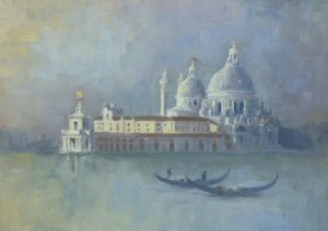 Early light, Santa Maria della Salute, Venice