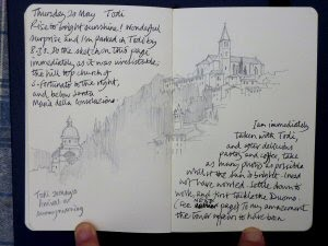 Thursday 20 May  Todi