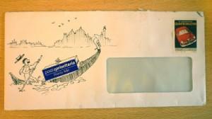 Envelope gondola doodleblog