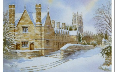 Chipping Campden in Snow
