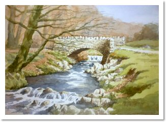 Painting Water and Bridges