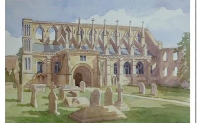 Malmesbury Abbey Painting