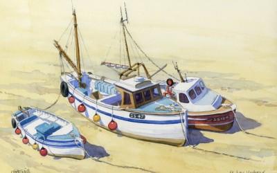 Fishing Boats at St. Ives, Cornwall