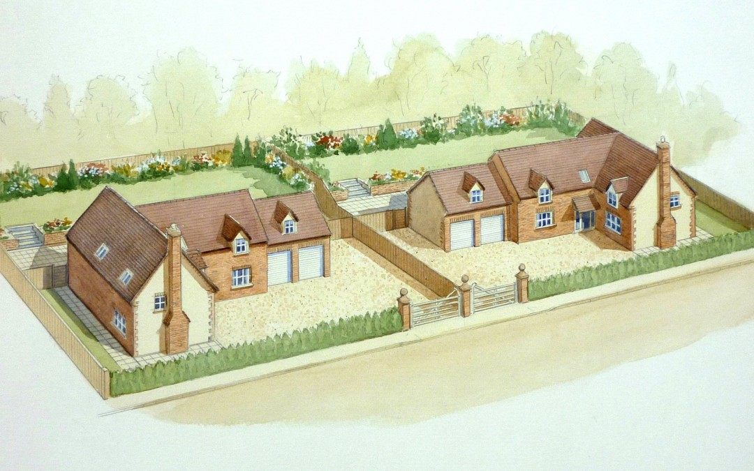 Alkerton Farm building plot