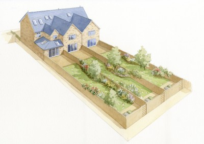 Stone Terraced Houses