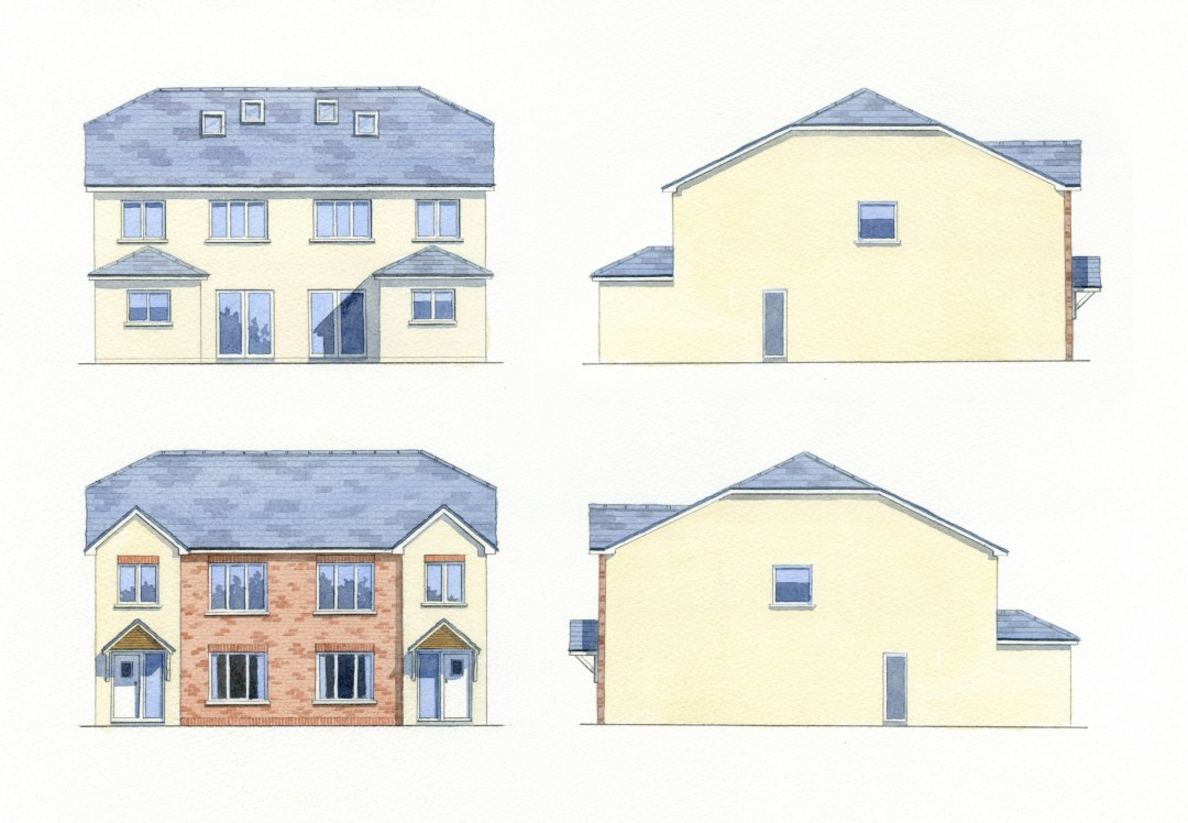 Coloured Elevations