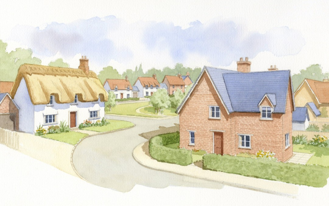 Thatched Housing Development