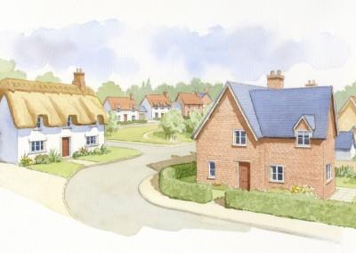 Thatched Housing Development