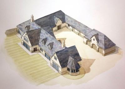 Barrow Road building plot