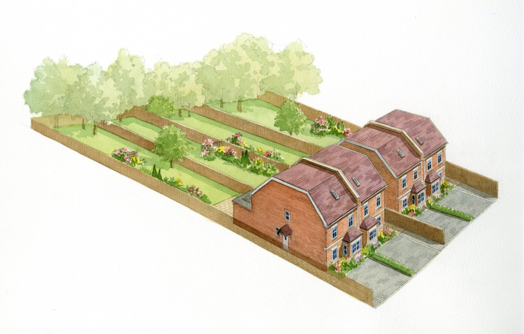 Building plot in Denby
