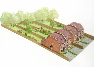 Building plot in Denby