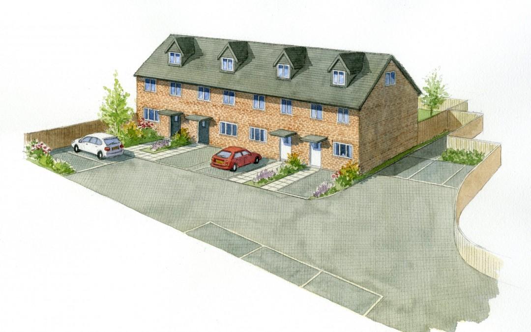 Terraced Houses Artist Impression