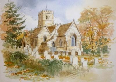 Broadwell Church, Cotswolds