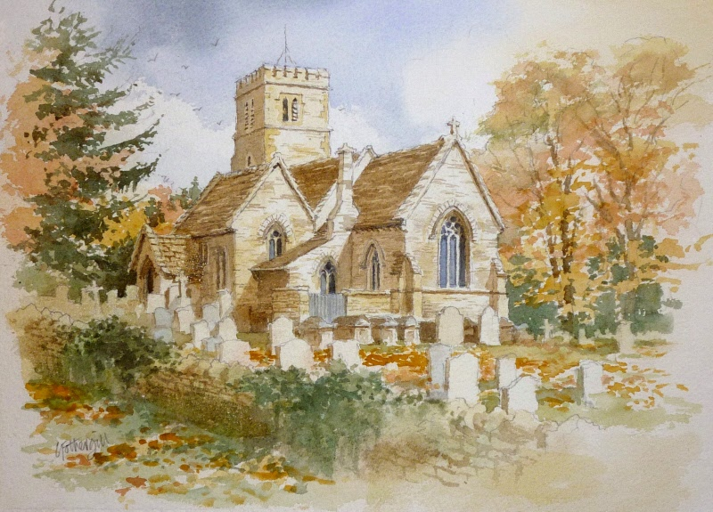 Broadwell Church, Cotswolds