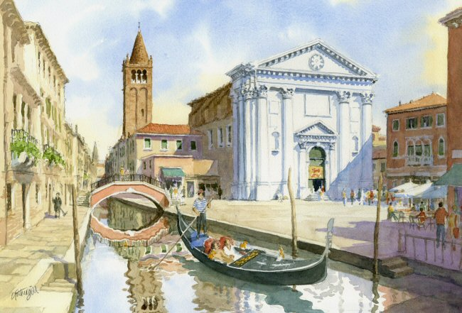 Campo San Barnaba Venice