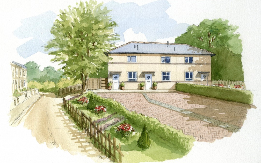 Artist Impression – House Extention