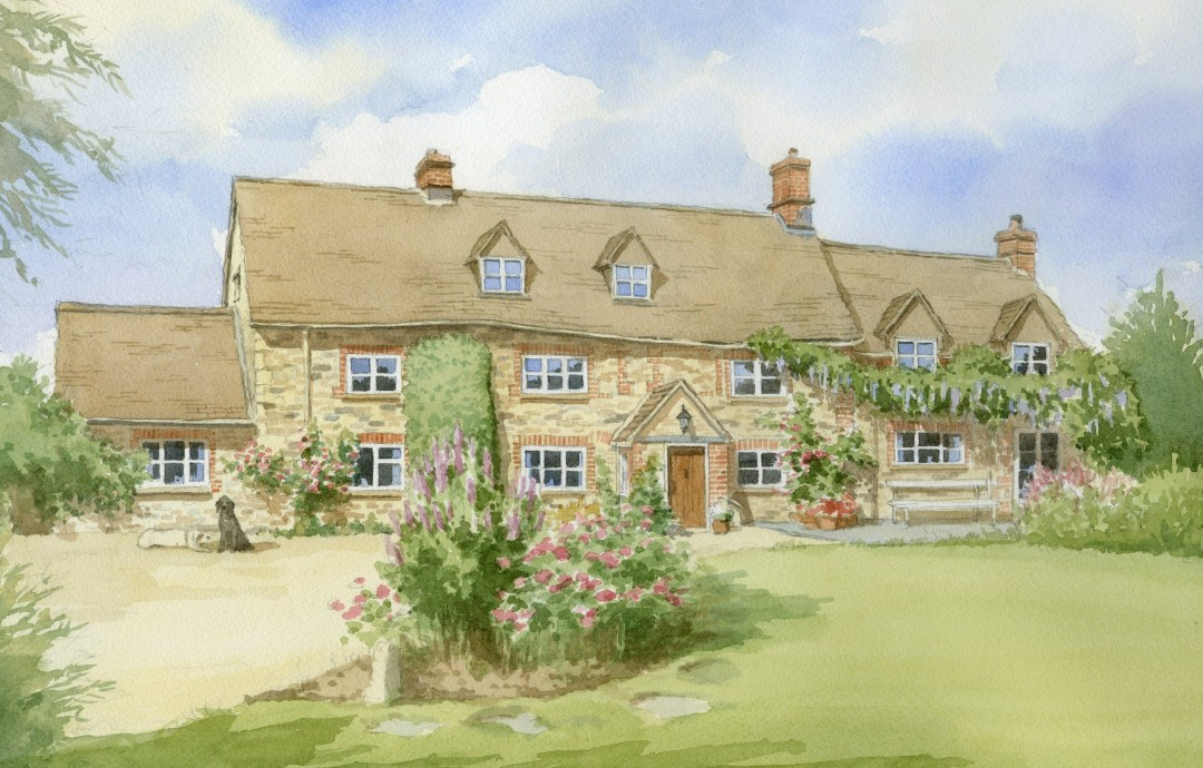 Oxfordshire Farmhouse