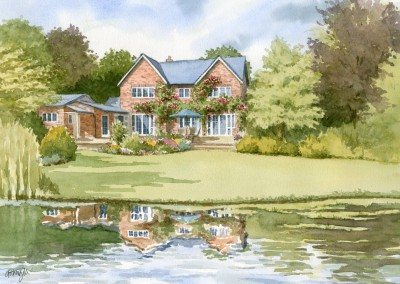 House with Lake