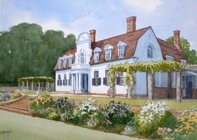 Dutch Colonial Style House