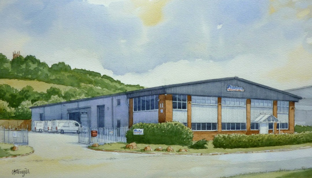 Artists Impression – Factory Building