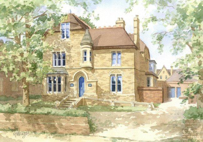 Portrait of Kellogg College, Oxford University
