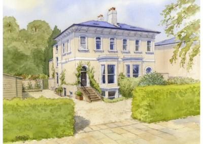 House Portrait, Cheltenham