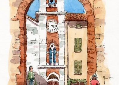 Tuscany Pen & Wash