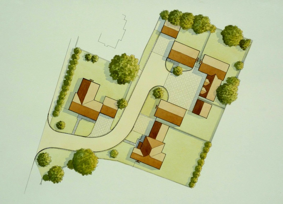 Site Plan Quedgeley