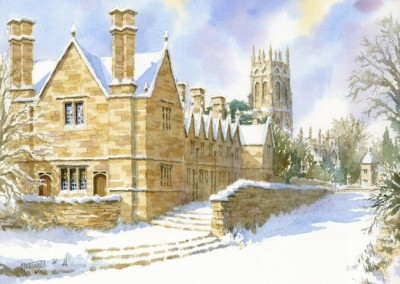 Snow at Chipping Campden