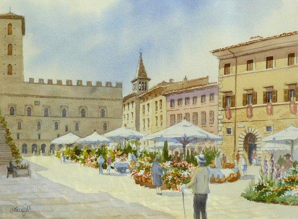 Todi Flower Market