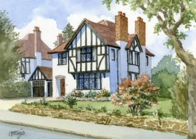 Mock Tudor Suburban House