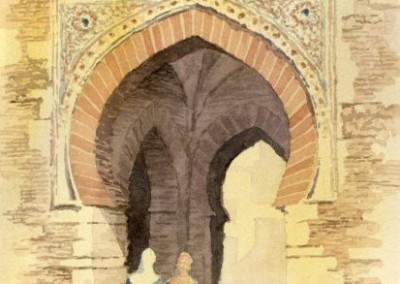 The Wine Gate, Alhambra Palace, Granada