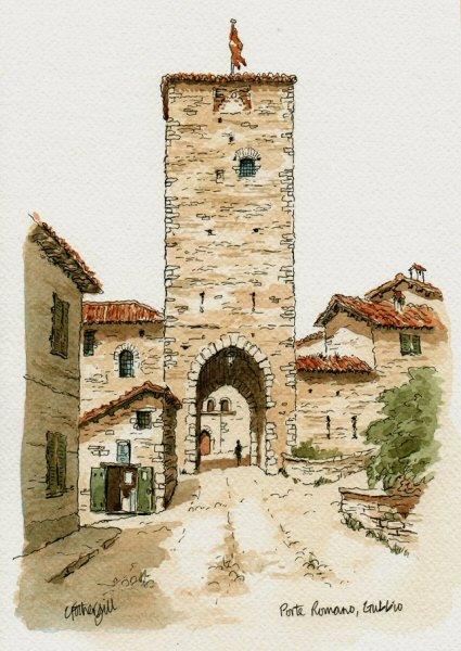 Porte Romano Gubbio