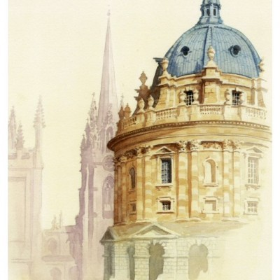 Radcliffe Camera, Oxford - a giclee print