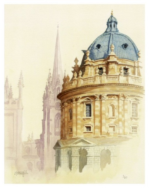 Radcliffe Camera, Oxford – a giclee print