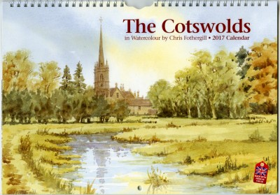 Cotswolds in Watercolour Calendar 2017