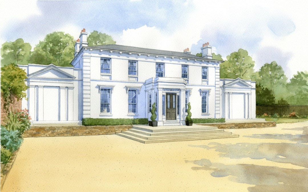 Country house redevelopment