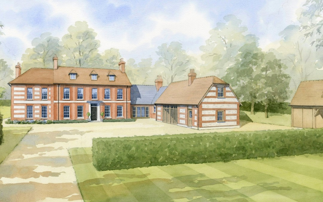Proposed Georgian Country House