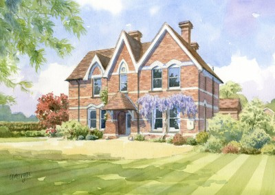 Victorian Rectory with garden