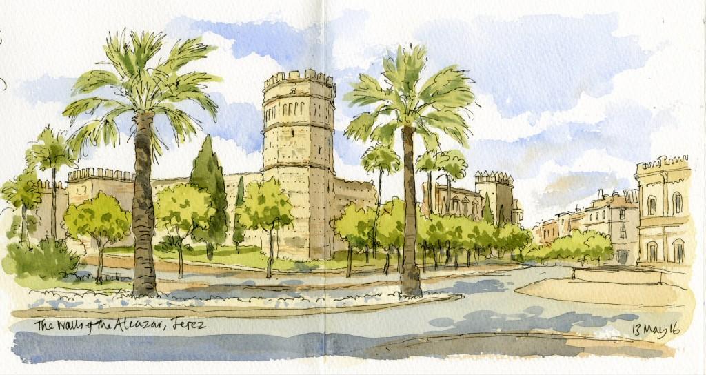 Alcazar Walls Jerez