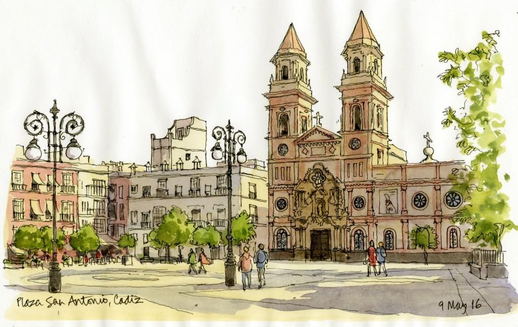 Plaza San Antonio Cadiz