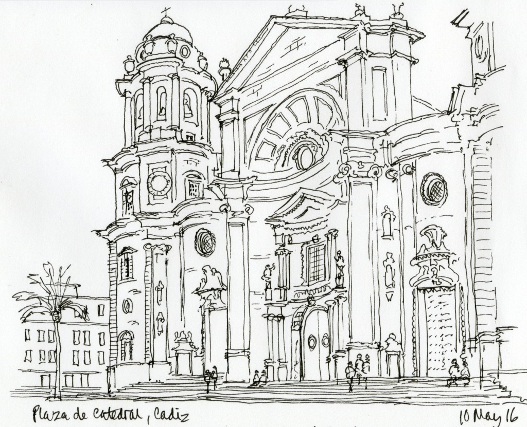 Plaza de Catedral Cadiz