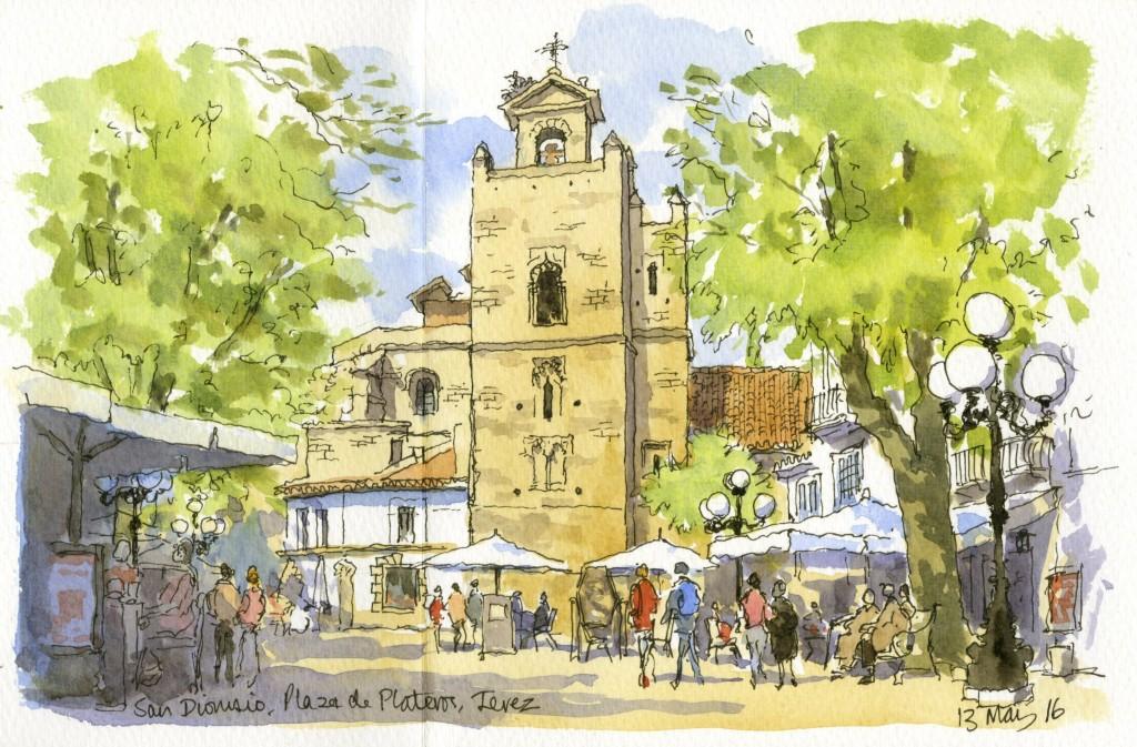 Plaza de Plateros Jerez