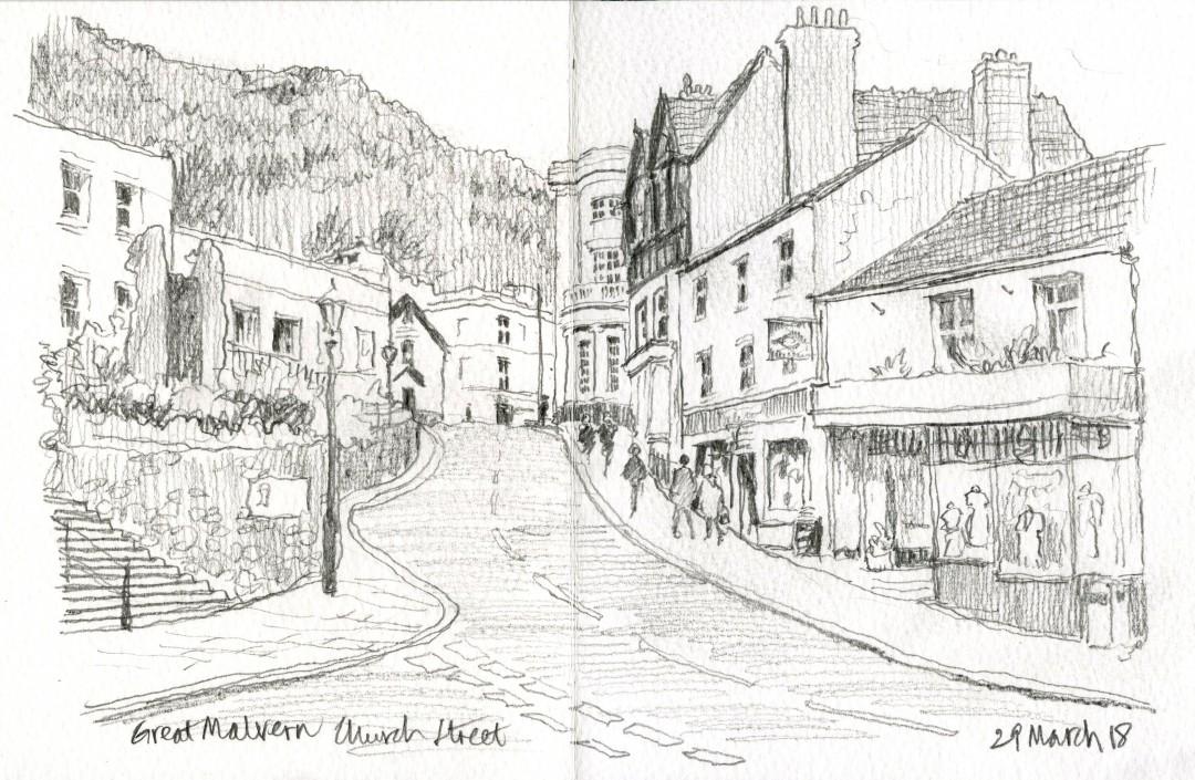 Church Street Malvern