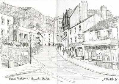 Church Street Malvern