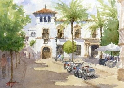 Street in Jerez de la Frontera, Andalucia