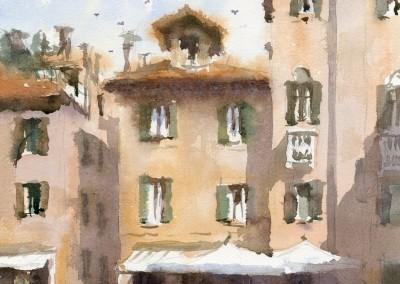 Cafe scene, Venice