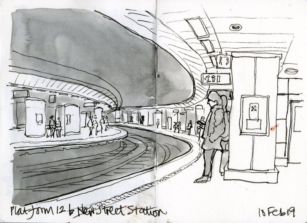 Platform 12b New Street 10 Feb 19