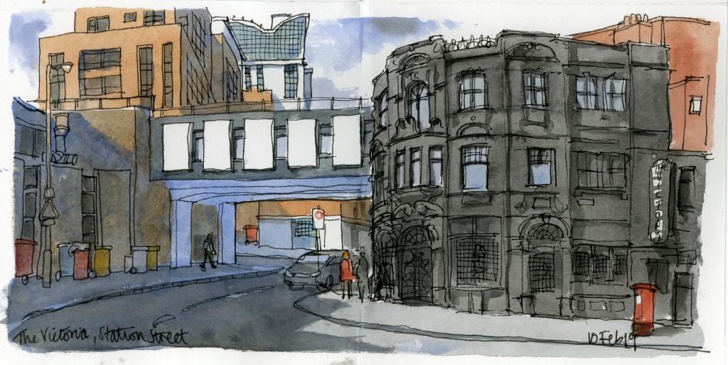 The Victoria Station Street 10 Feb 19